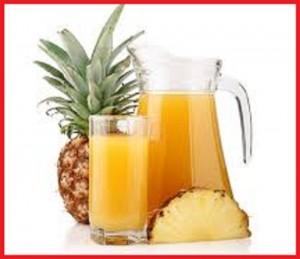 آب آناناس و از بین بردن چربی های شکم
