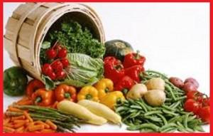 خواص سبزیجات تازه
