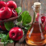 با سرکه سیب چربی های اضافه بدنتان را بسوزانید