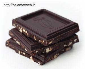 شکلات تلخ و اختلالات خواب