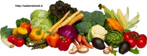 چاقی صورت با مصرف سبزیجات