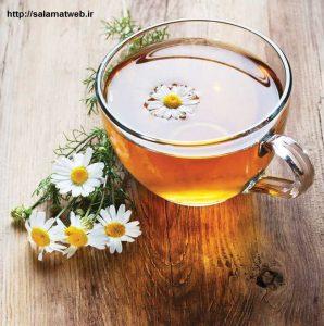چای بابونه و جلوگیری از بی خوابی
