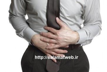 داشتن شکمی بزرگ به علت ابتلا به نفخ معده