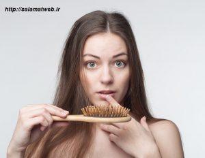 ریزش مو به علت بیماری