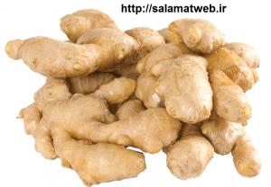 ترکیبات غذایی زنجبیل