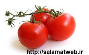 آب کردن چربی های شکم با گوجه فرنگی
