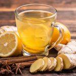 درمان سرماخوردگی با دم نوش زنجبیل