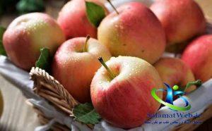 ویتامین های موجود در سیب
