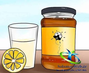 معجزه آب لیمو ترش و عسل در سفید کردن پوست