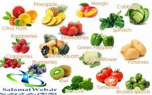 منابع غذایی حاوی ویتامین ث