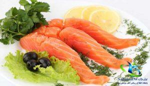 تقویت قدرت بینایی با مصرف ماهی