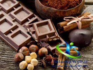 شکلات تلخ و کاهش سایز شکم