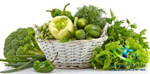 تقویت قدرت بینایی با مصرف سبزیجات برگ سبز