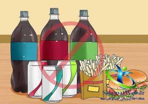 خودداری از مصرف فست فودها برای لاغر شدن