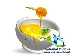 روشن کردن پوست با عسل