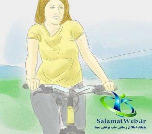 دوچرخه سواری برای لاغر کردن پا
