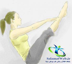 حرکات مفید برای لاغر کردن پا