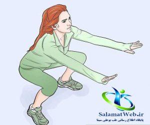 پاهای چاقی داشته باشید با تمرینات شدید