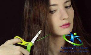 کوچک کردن بینی بدون جراحی با تغییر فرم موها