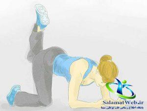 افزایش ورزش و ورزش های مفید برای لاغر کردن پا