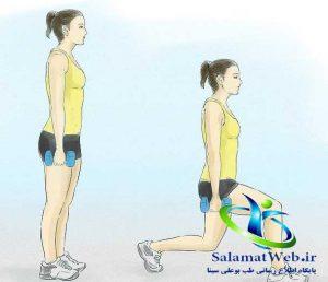روش های موثر برای لاغر کردن پا