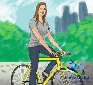 کوچک کردن سینه با دوچرخه سواری