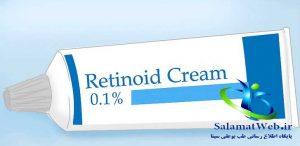استفاده از محصولات حاوی رتینوئید برای داشتن پوستی صاف و بدون لک