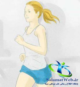 دویدن برای لاغر کردن پا