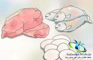مصرف مواد پروتئینی برای لاغر شدن سریع شکم و پهلو