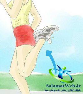 نرمش های مفید برای لاغر کردنپا
