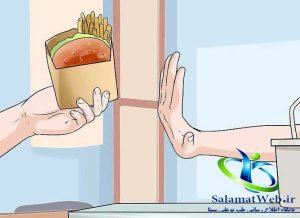 اجتناب از مصرف میان وعده های مضر برای لاغر شدن سریع شکم و پهلو