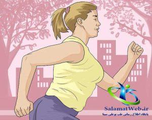 برای کوچک کردن سینه ورزش کنید