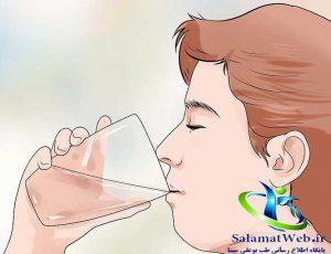 لاغر شدن سریع شکم و پهلو با افزایش مصرف آب