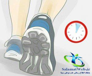 راه رفتن و پیاده روی برای لاغر کردن پا