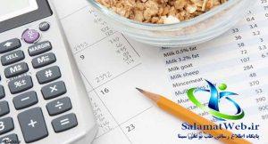 چاقی صورت با افزایش کالری دریافتی روزانه