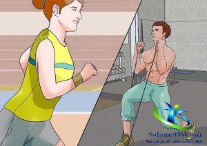 تمرینات هیت برای لاغر شدن سریع شکم و پهلو