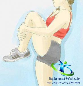 عضل سازی یکی از راه های لاغر کردن پا