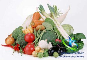 مصرف سبزیجات جهت بزرگ کردن باسن