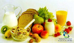کاهش سایز سینه با اصلاح شیوه تغذیه