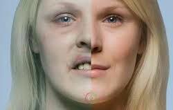 چهره افراد سیگاری