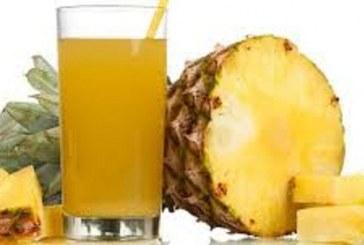 آب آناناس نوشیدنی شفا بخش