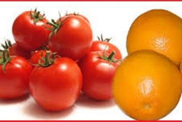 حفظ زیبایی و سلامتی با گوجه فرنگی و پرتقال