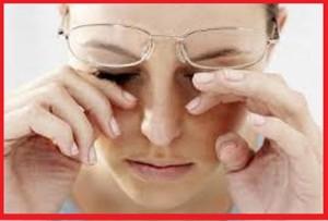 راه های برطرف کردن خستگی از چشم ها