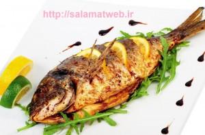 ماهی غذای مفید مغز