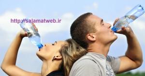 آب و هضم سریع تر غذا و افزایش سوخت و ساز بدن