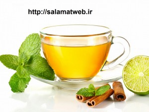 چای نعناع و لاغری