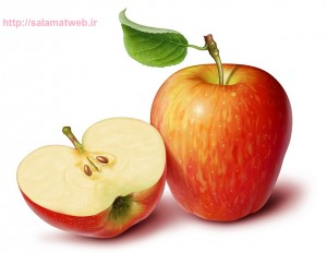 سیب میوه مفید در درمان سرماخوردگی