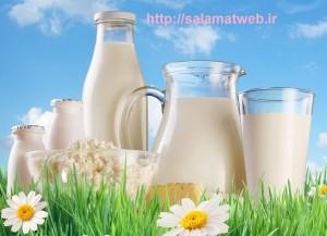 شیر و آرامش