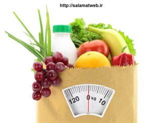 تغییر در عادت های غذایی