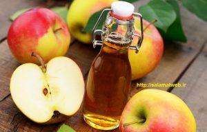سرکه سیب و کاهش وزن